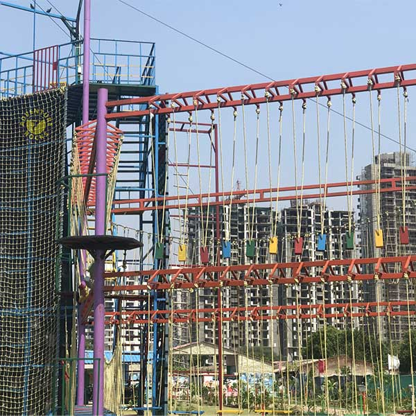 Double Layer Rope Course