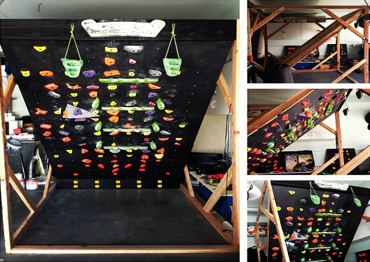 Moveable Climbing Wall