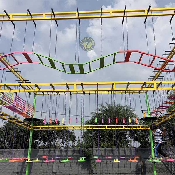 Single Layer Rope Course