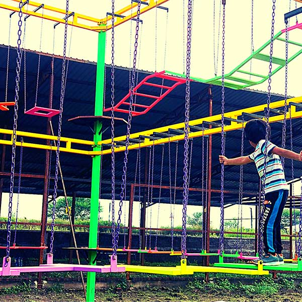 Triple Layer Rope Course