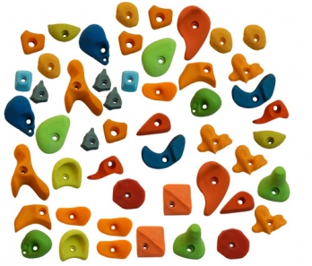 Climbing Holds Mix50 Pieces Set Manufacturers in Panipat