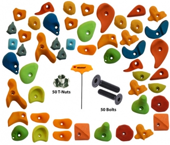 Climbing Holds Mix50 Pieces Set T-Nut + Bolt + LN Key Manufacturers in Nagaland
