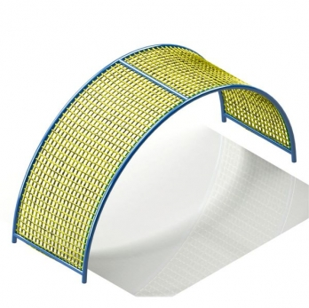 SEMI CIRCLE (CURVE) COMMANDO NET Manufacturers in Satna